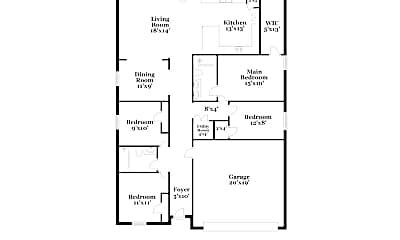 Bedroom, 15577 Briar Forest Dr, 2