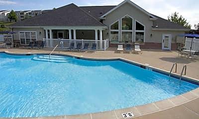 Pool, Lakewood Apartments, 1