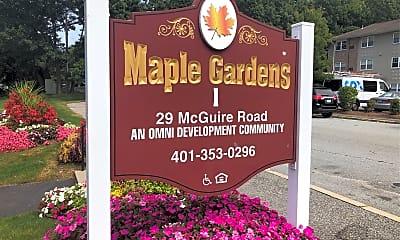 Maple Gardens I, 1