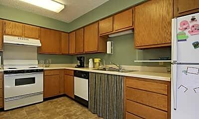 Kitchen, Elburn Meadows Senior Living 55+, 1
