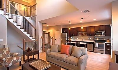 Living Room, The Lofts At Saratoga Blvd, 0