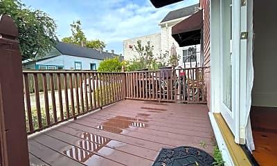 Patio / Deck, 3414 St Claude Ave, 2