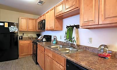 Kitchen, The Arch at Denton-Per Bed Lease, 0