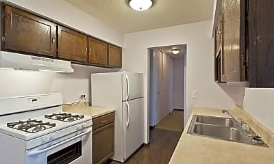 Kitchen, Hunter's Ridge Apartments, 1