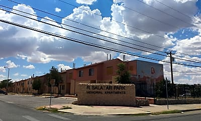 R Salazar Park Memorial Apartments, 1