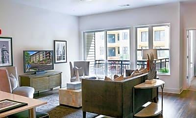 Living Room, 675 North Highland Avenue Northeast Unit #3, 1