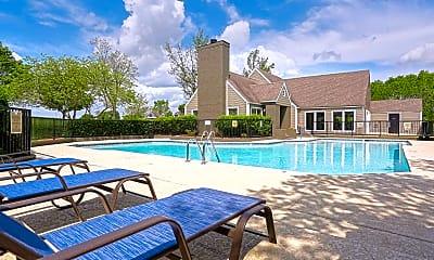 Pool, Windsor Park Apartments, 1