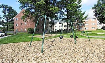 Playground, Village Square, 2