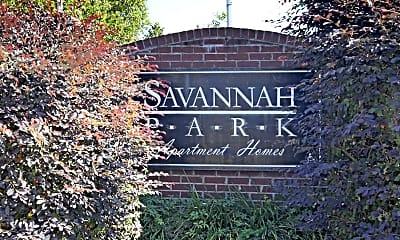 Community Signage, Savannah Park, 2