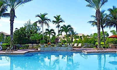 Pool, Portofino at Jensen Beach, 0