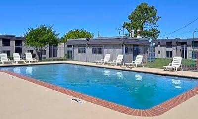 Pool, Denton North Apartments, 0