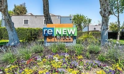 Community Signage, ReNew Mills, 2