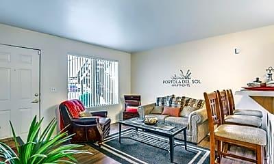 Living Room, Portola Del Sol, 1