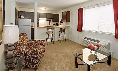 Living Room, Huntington Place Apts, 1
