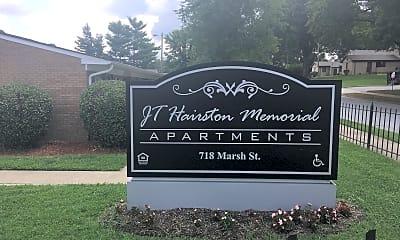 J. T. Hairston Memorial Apartments, 1