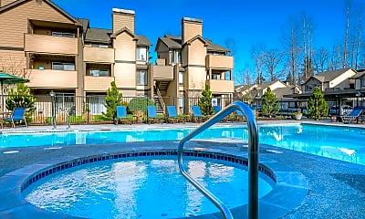 Pool, Martha Lake Apartments, 0