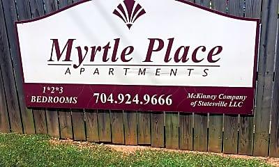 Myrtle Place, 1