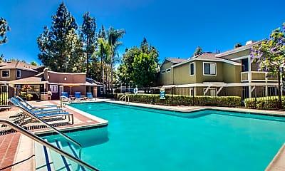 Pool, Island Club Apartments, 0