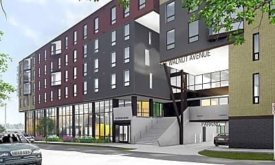 Building, The 505 on Walnut: Off-Campus Syracuse University Housing, 1