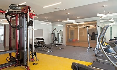 Fitness Weight Room, The Tremont at 3rd Ave, 2