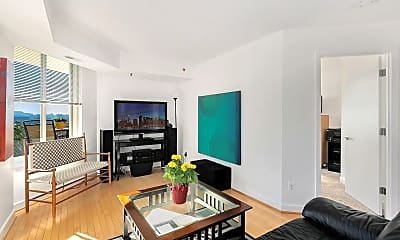 Living Room, 7500 Woodmont Ave, 1