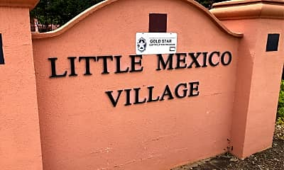 Little Mexico Village, 1