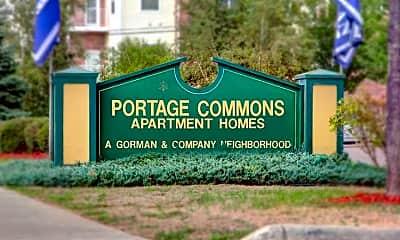 Community Signage, Portage Commons, 2