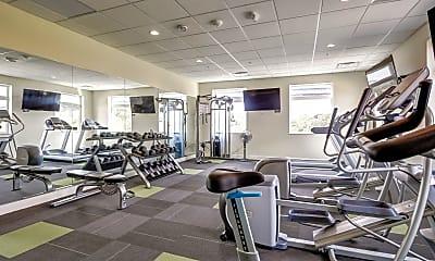 Fitness Weight Room, The Granary Lofts, 2