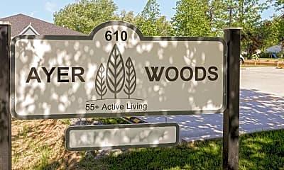 Community Signage, Ayer Woods, 2