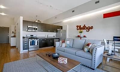 Living Room, 463 N High St 5A, 0