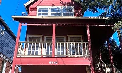 Building, 5540 Woodlawn Ave N, 1