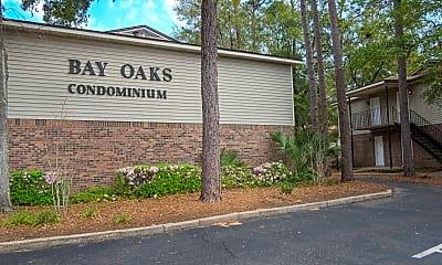 Landscaping, Bay Oaks, 1