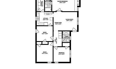 Living Room, 1809 Tyndall Dr, 2
