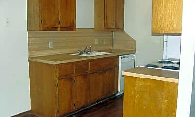 Kitchen, Sunset Village Apartments, 1