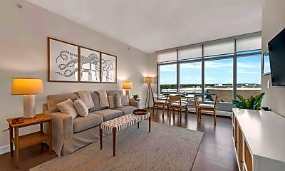 Living Room, 30 Melrose Terrace 502, 1