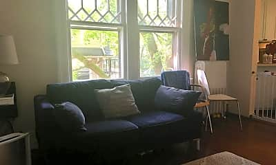 Living Room, 324 Claremont Ave, 1