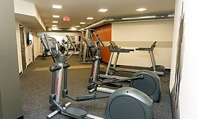 Fitness Weight Room, Liberty Pointe, 2