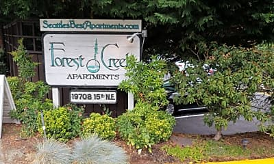 Forest Creek Apartments, 1