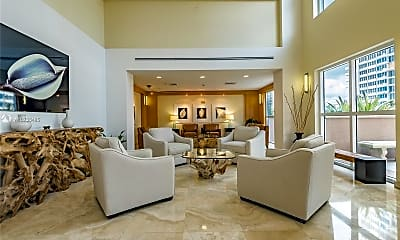Living Room, 2080 S Ocean Dr 602, 1