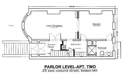 Bedroom, 25 E Concord St, 2
