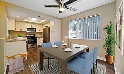Dining Room, Southridge Apartments, 0