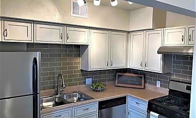 Kitchen, Melrose Apartments, 0