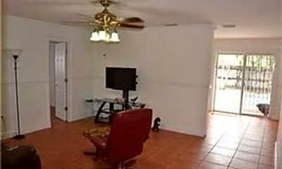 Living Room, 6521 Scott St, 1