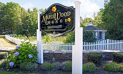 Community Signage, Maplewood Manor, 2