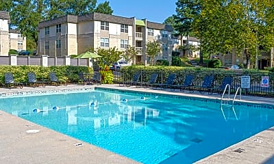 Pool, Evergreen at Hickory Valley, 2