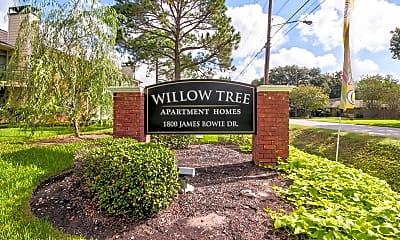 Community Signage, Willow Tree, 2