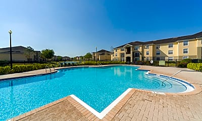 Pool, Noah's Landing Apartments, 1