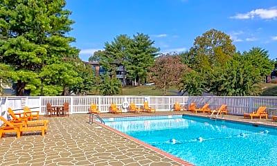 Pool, City Side Flats, 1