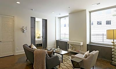 Living Room, Lofts At The Reserve, 1