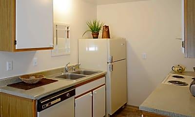 Kitchen, Oakwood Club Apartments, 1